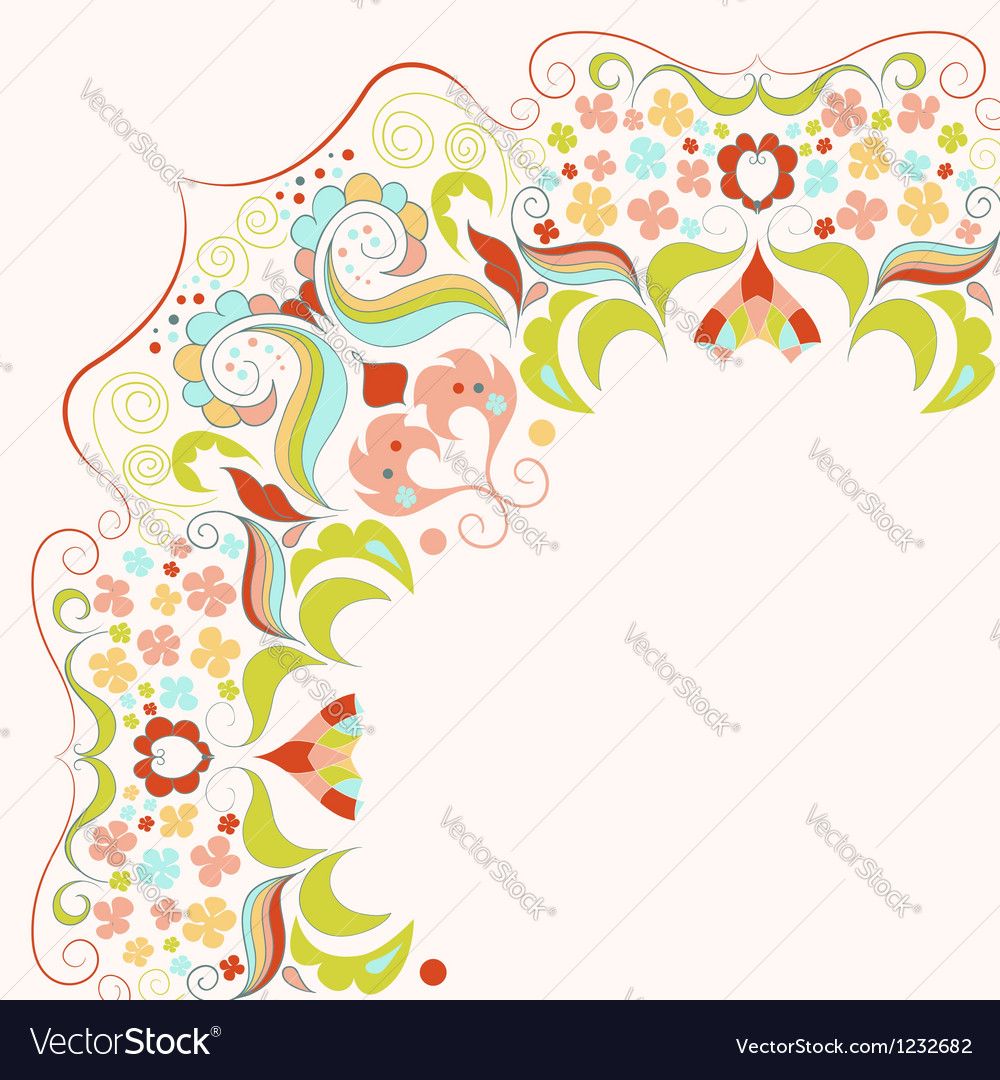 Element with lacy frame vector | Price: 1 Credit (USD $1)