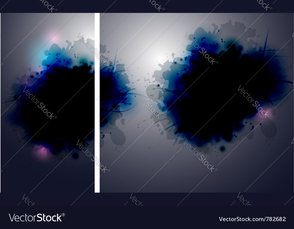 Ink in the water vector | Price: 1 Credit (USD $1)