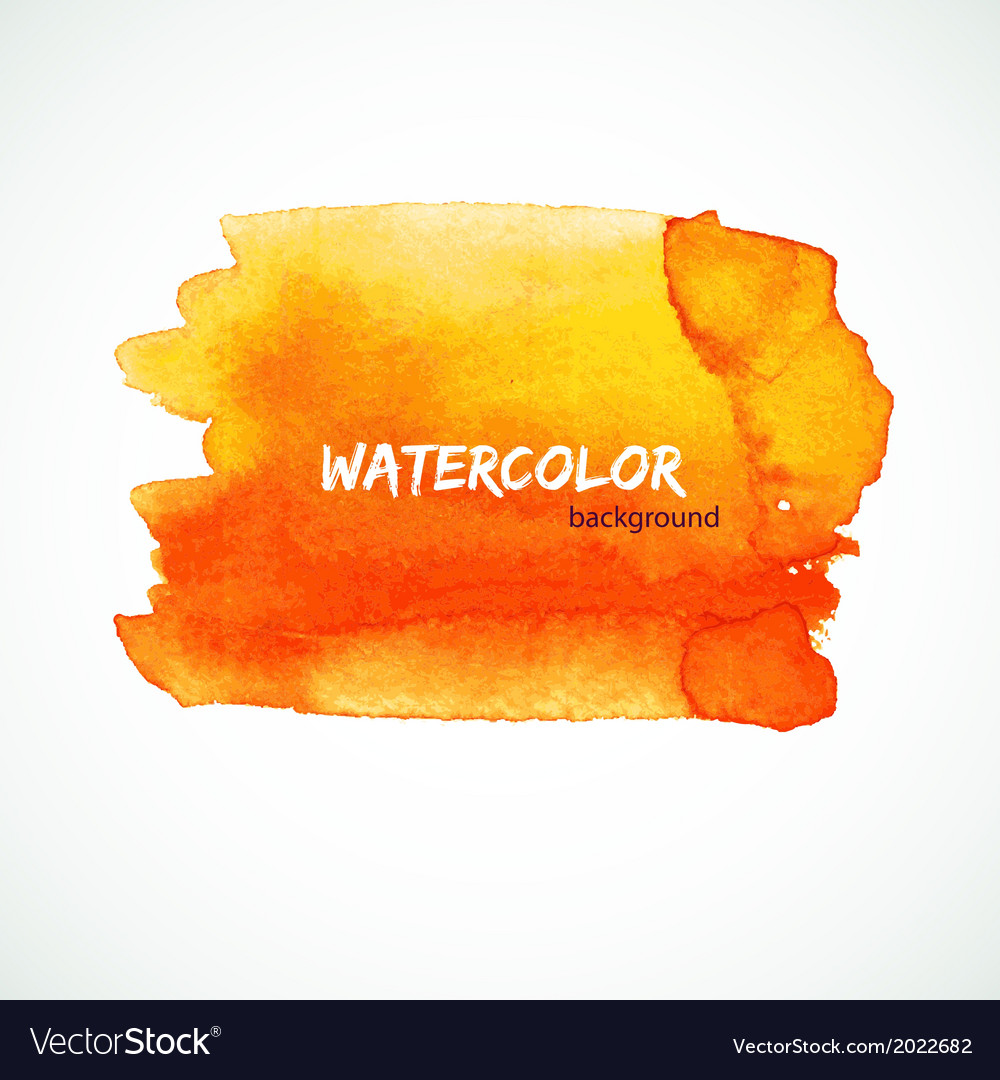 Watercolor design vector | Price: 1 Credit (USD $1)