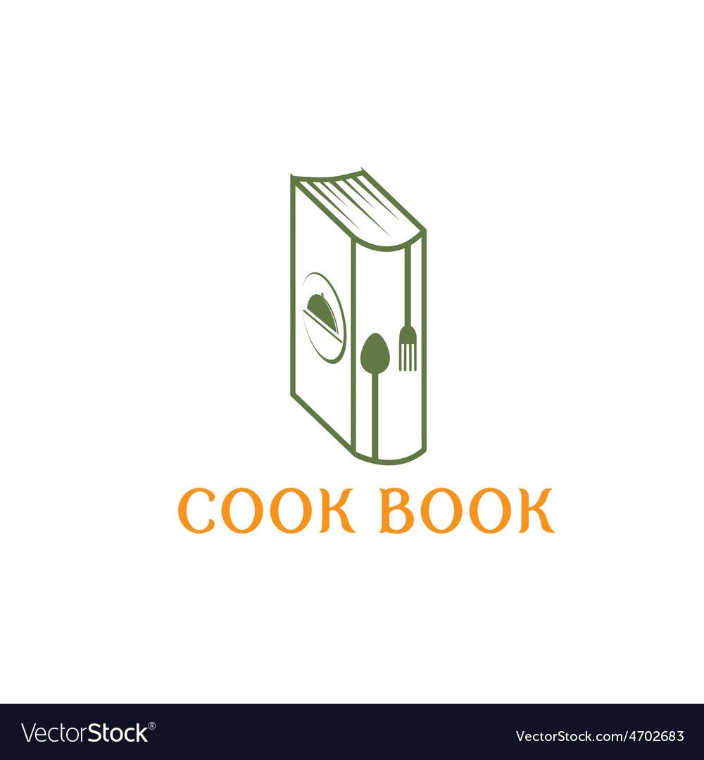 Cook book design template vector | Price: 1 Credit (USD $1)