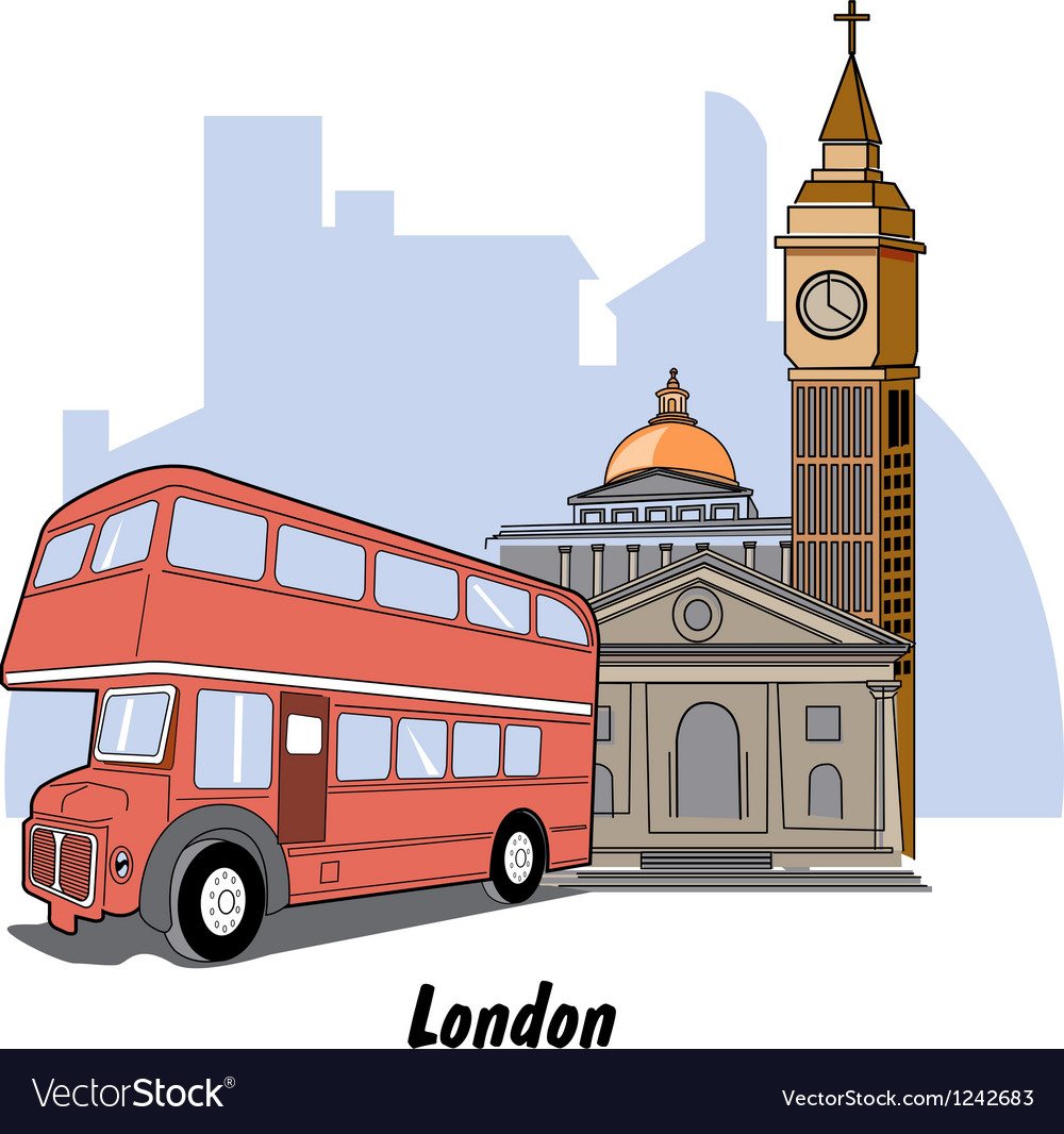 London england vector | Price: 1 Credit (USD $1)