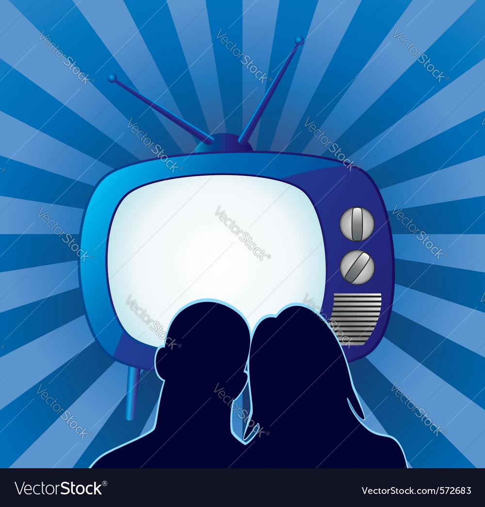 Retro tv set vector   Price: 1 Credit (USD $1)