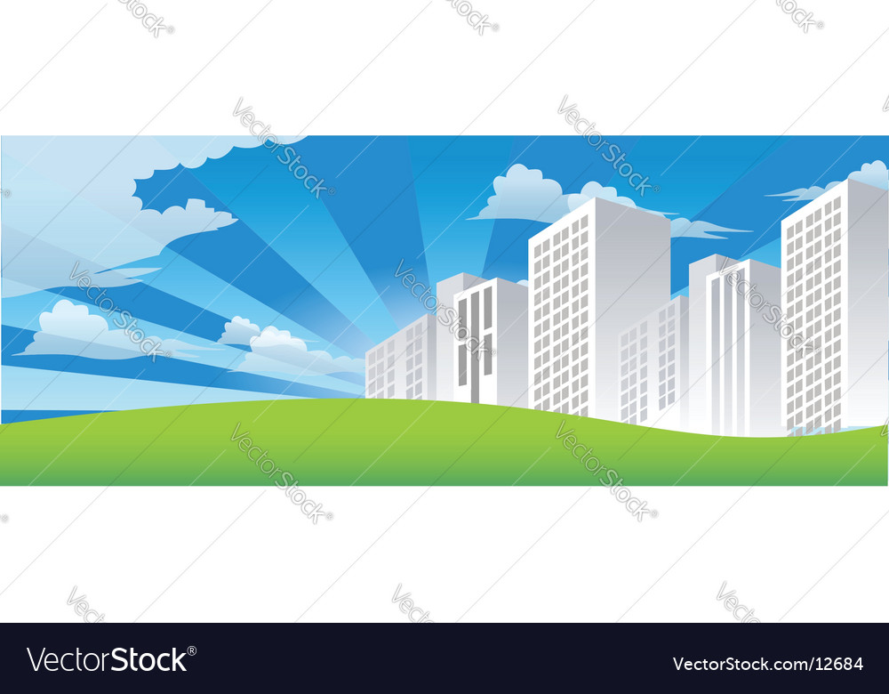 The city vector | Price: 1 Credit (USD $1)