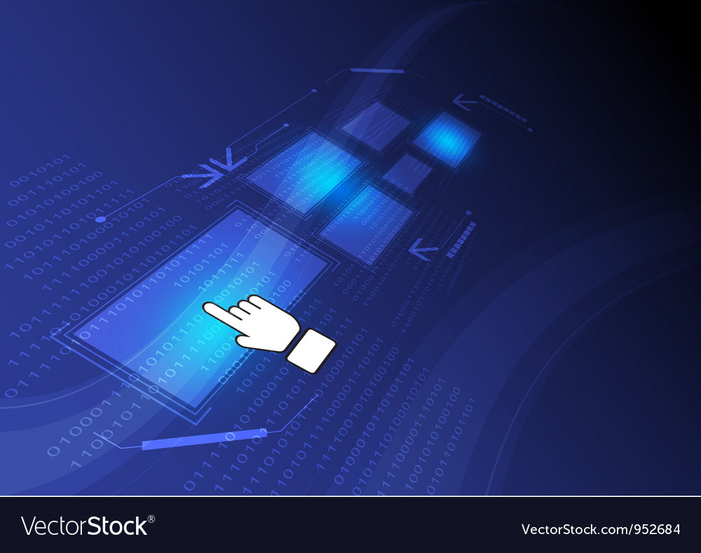 Digital concept background vector | Price: 1 Credit (USD $1)