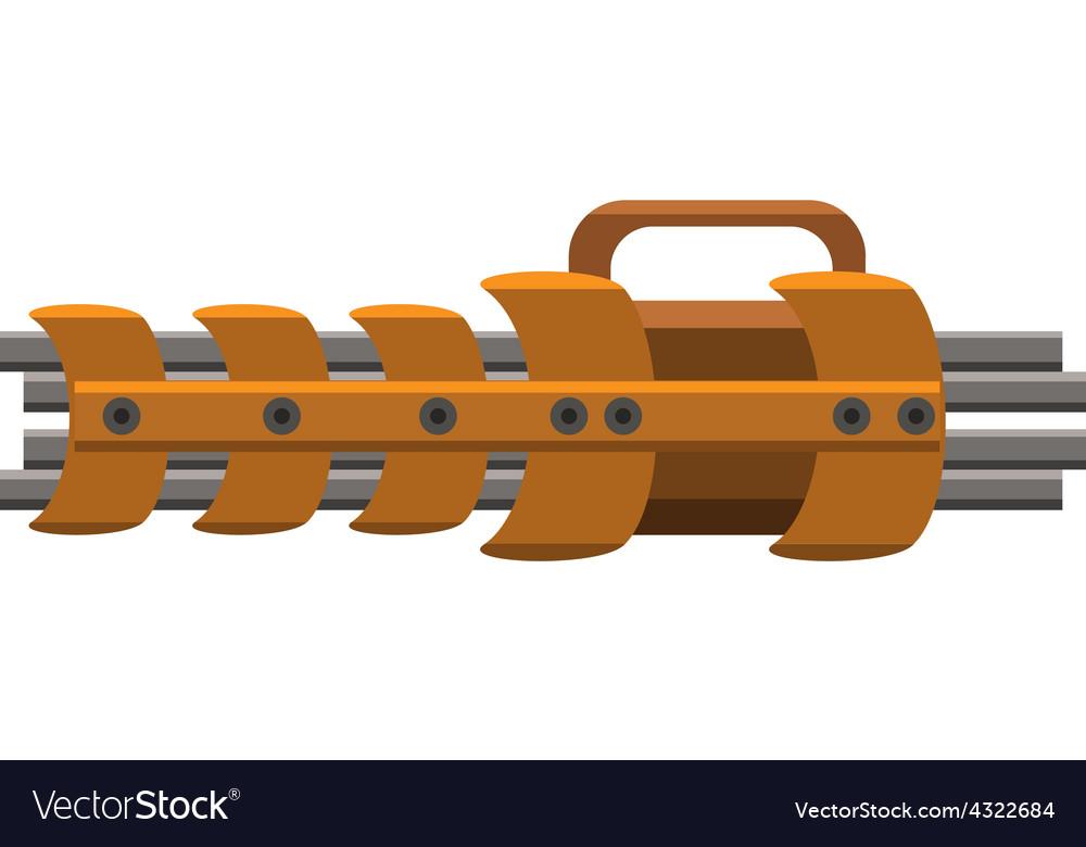Gatling gun vector | Price: 1 Credit (USD $1)