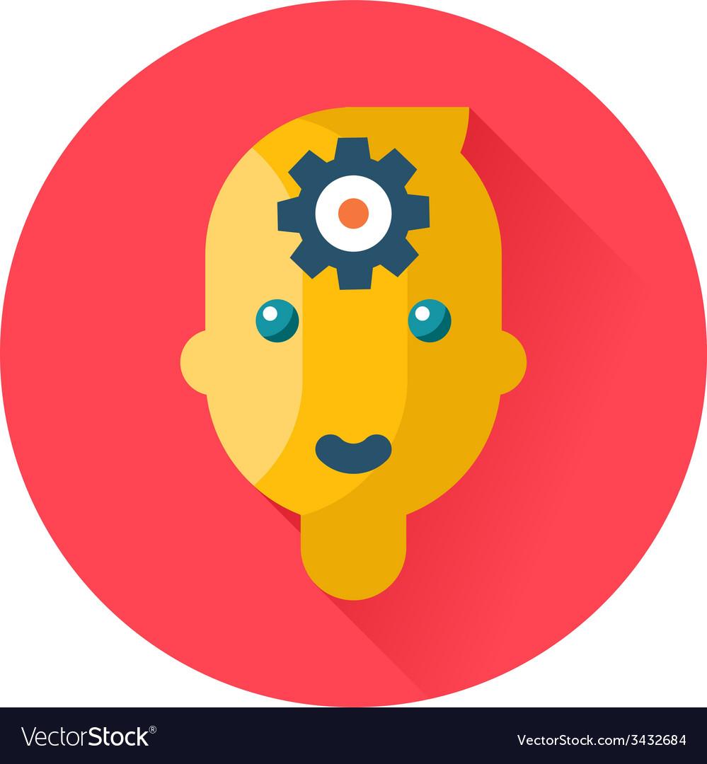 Mind head gear icon vector | Price: 1 Credit (USD $1)