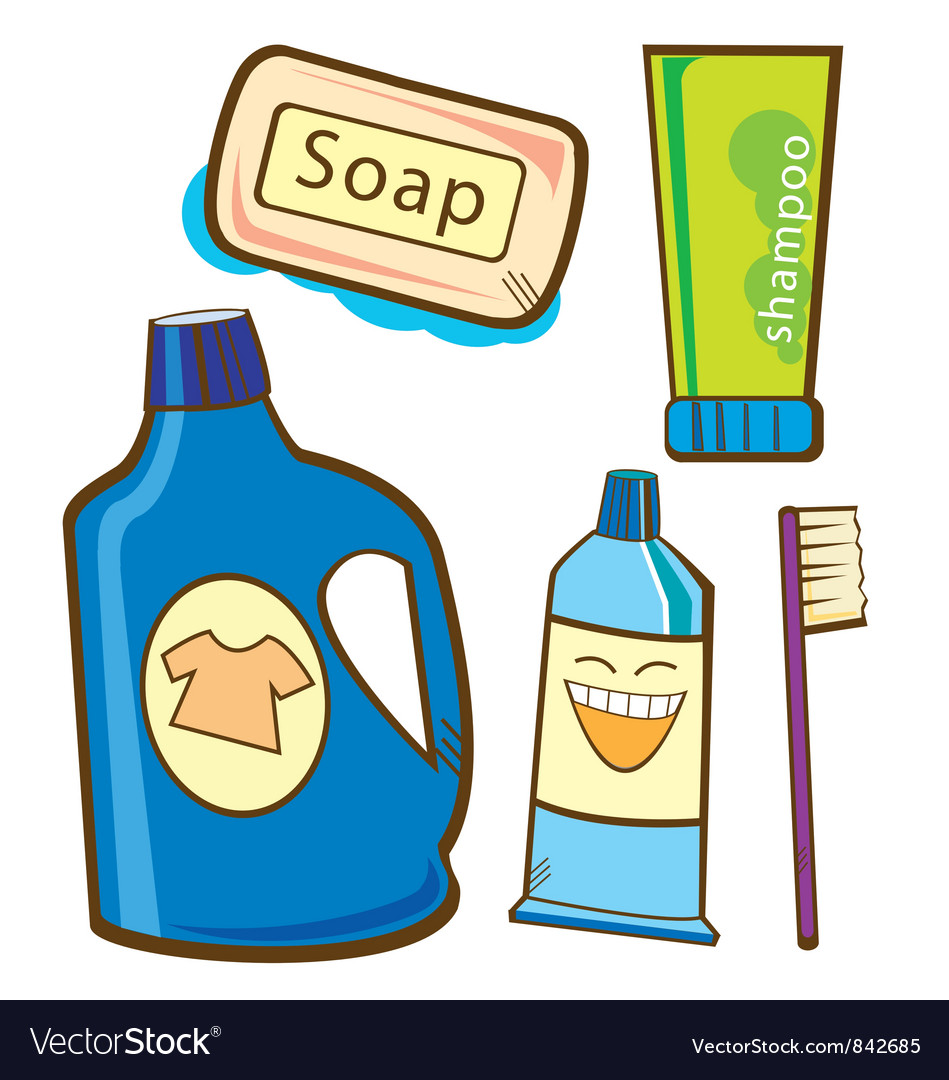 Cleaning products vector | Price: 1 Credit (USD $1)