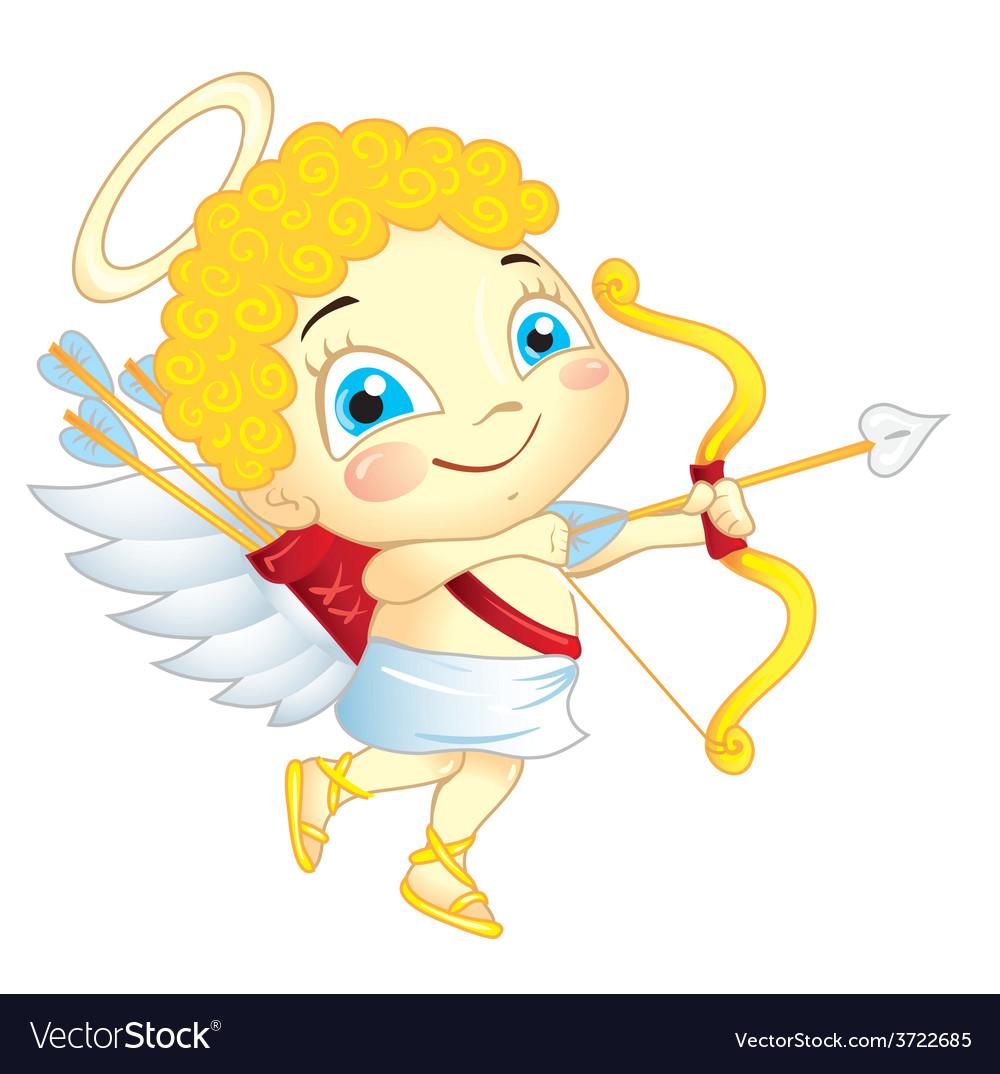 Cute cupid vector | Price: 1 Credit (USD $1)