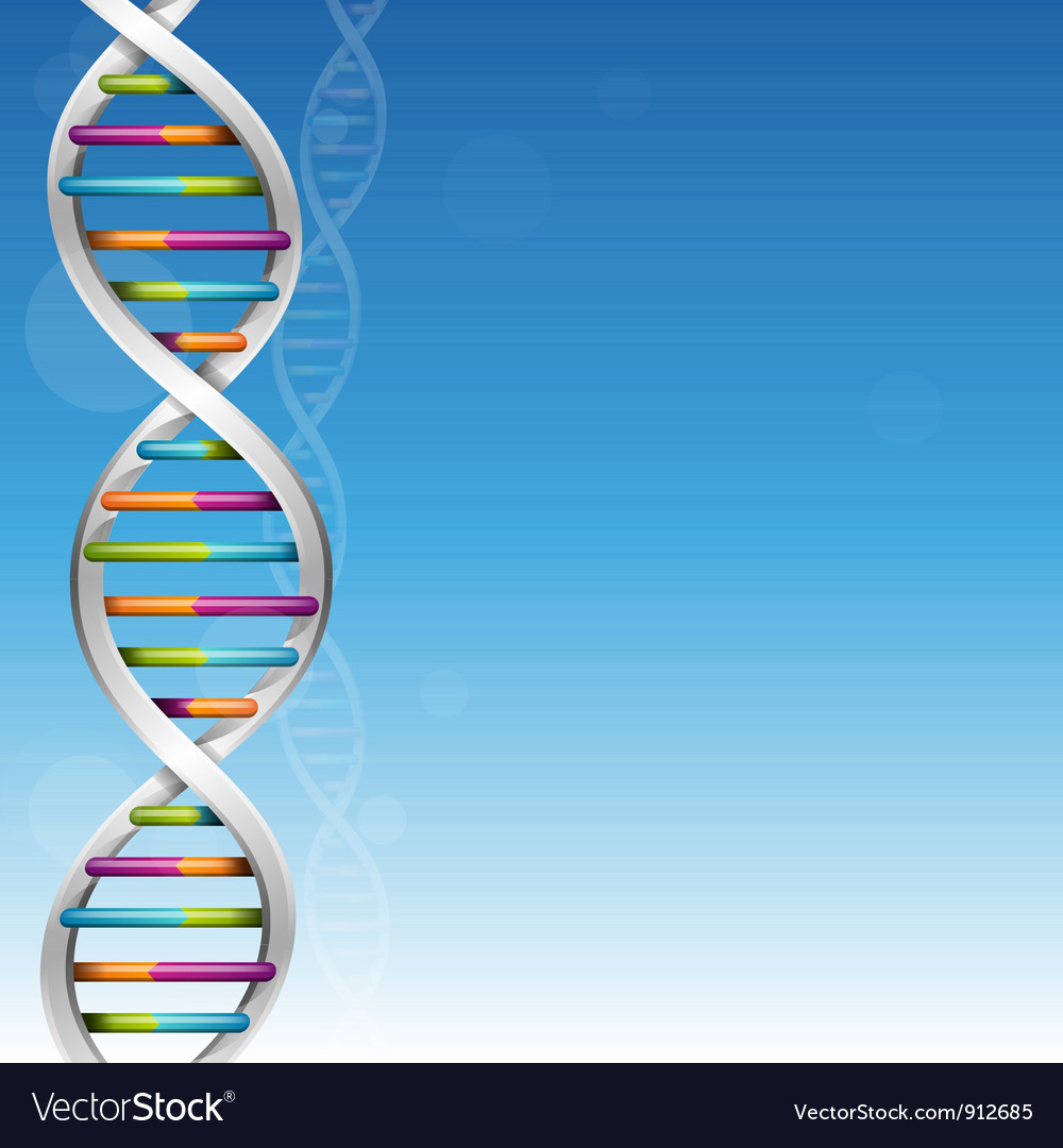 Dna background vector | Price: 3 Credit (USD $3)