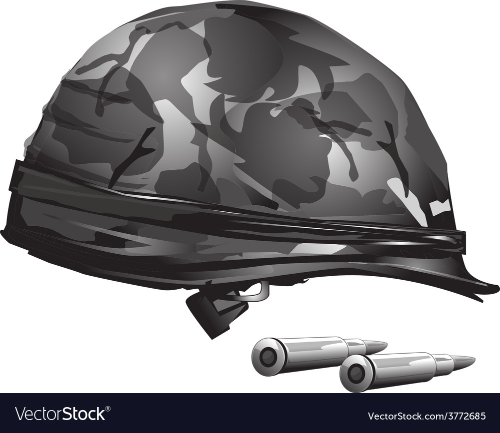 Military helmet free vector | Price: 3 Credit (USD $3)