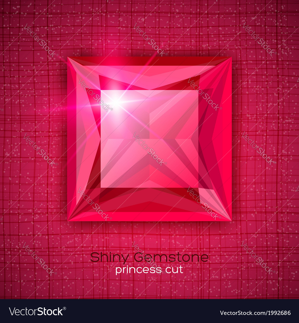 Gemstone princess shaped on textured background vector   Price: 1 Credit (USD $1)