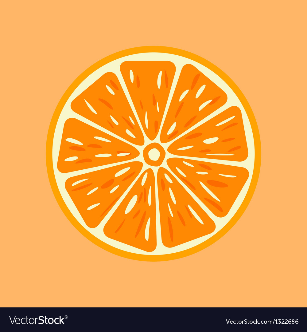 Orange vector | Price: 1 Credit (USD $1)
