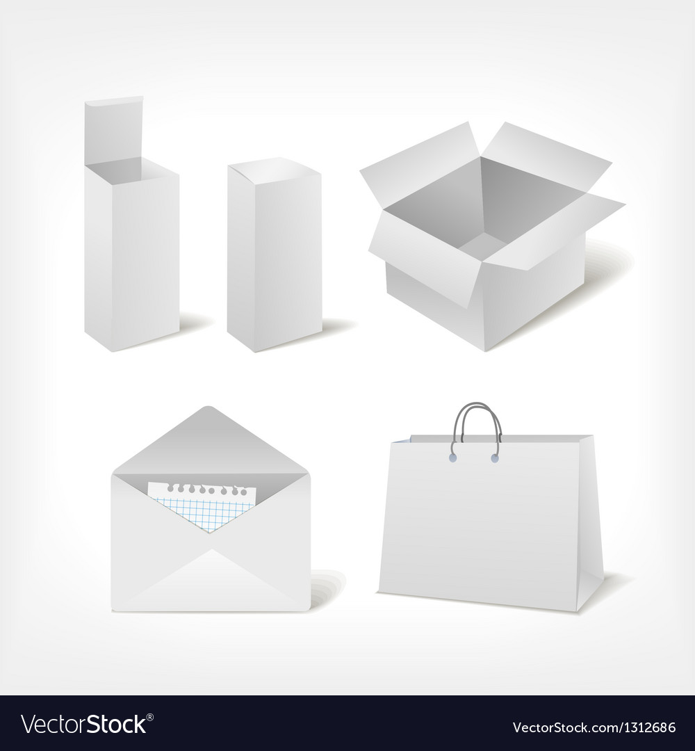 Set of different storage vector | Price: 1 Credit (USD $1)