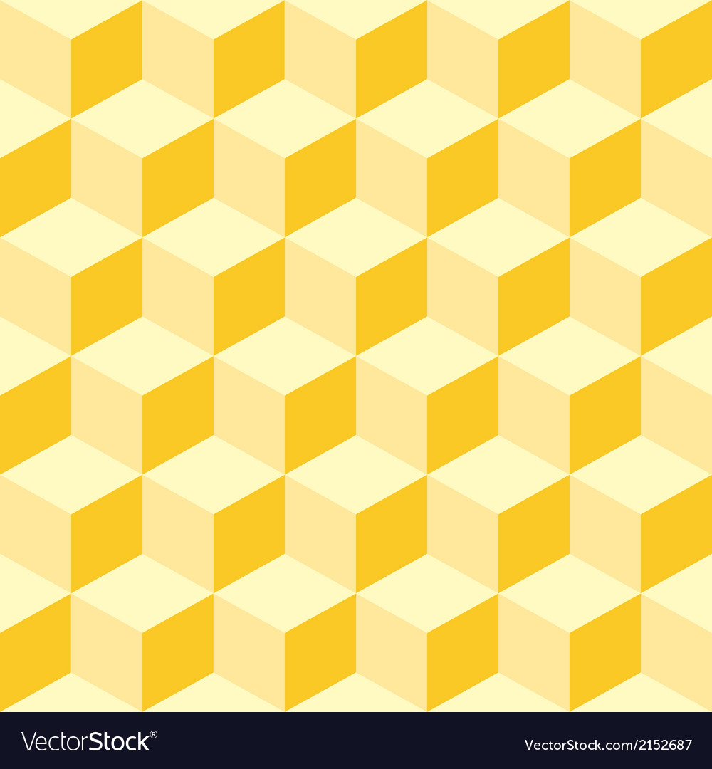 Cubes seamless background vector | Price: 1 Credit (USD $1)