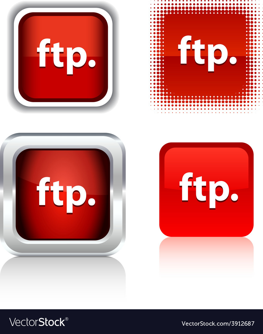 Ftp icons vector | Price: 1 Credit (USD $1)