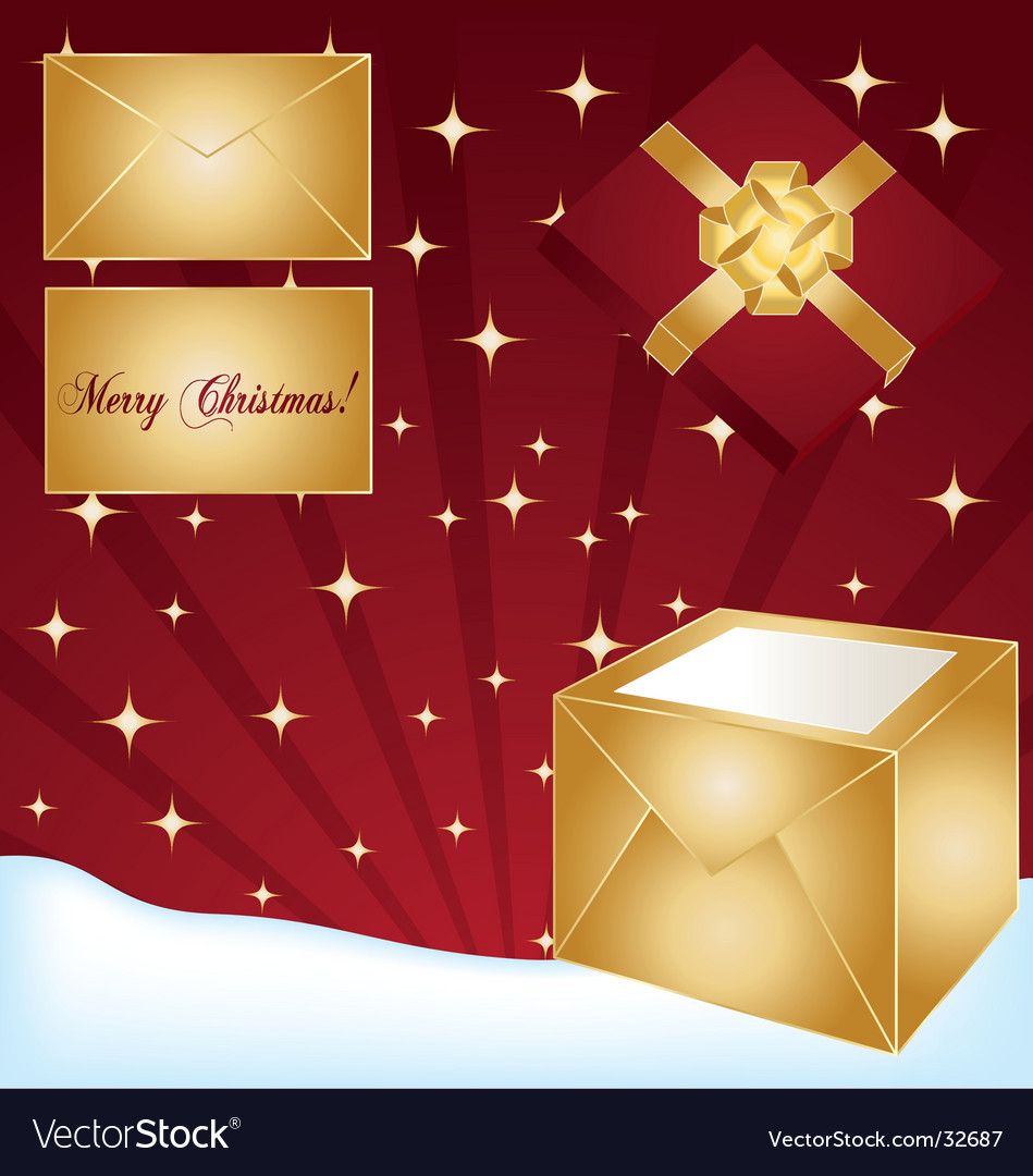Gifts background vector | Price: 1 Credit (USD $1)