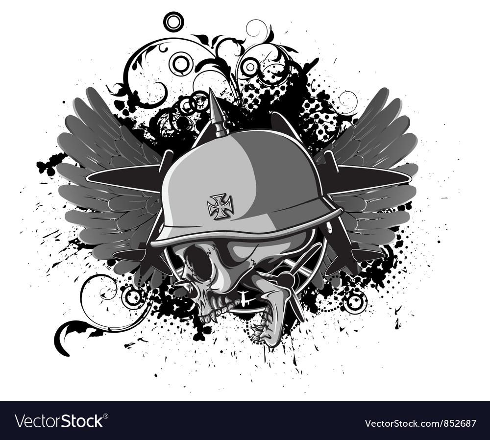 Grunge t-shirt design vector | Price: 3 Credit (USD $3)