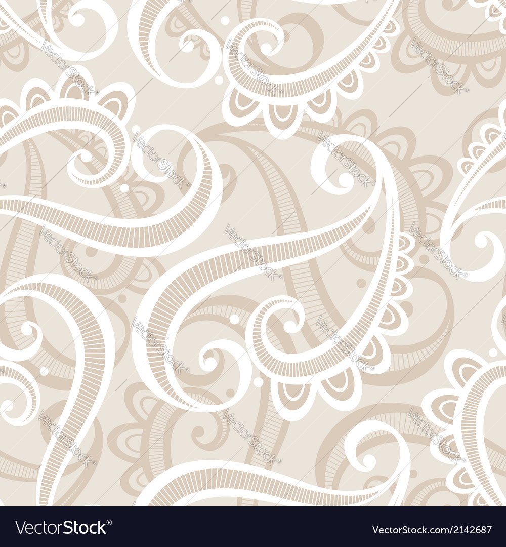 Seamless ornate pattern vector   Price: 1 Credit (USD $1)