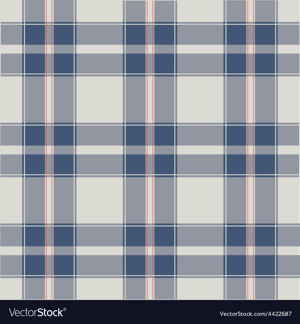 Seamless retro squared fabric vector | Price: 1 Credit (USD $1)