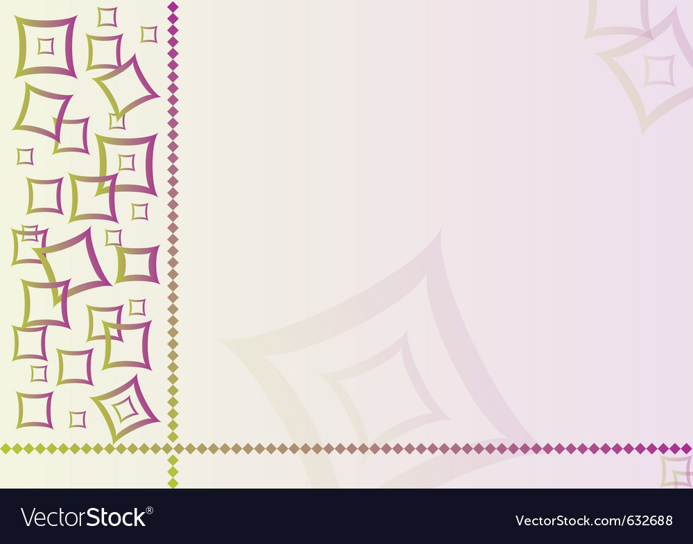 Abstract textile background with square vector | Price: 1 Credit (USD $1)