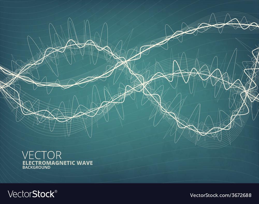 Blueeprint style radio background vector | Price: 1 Credit (USD $1)