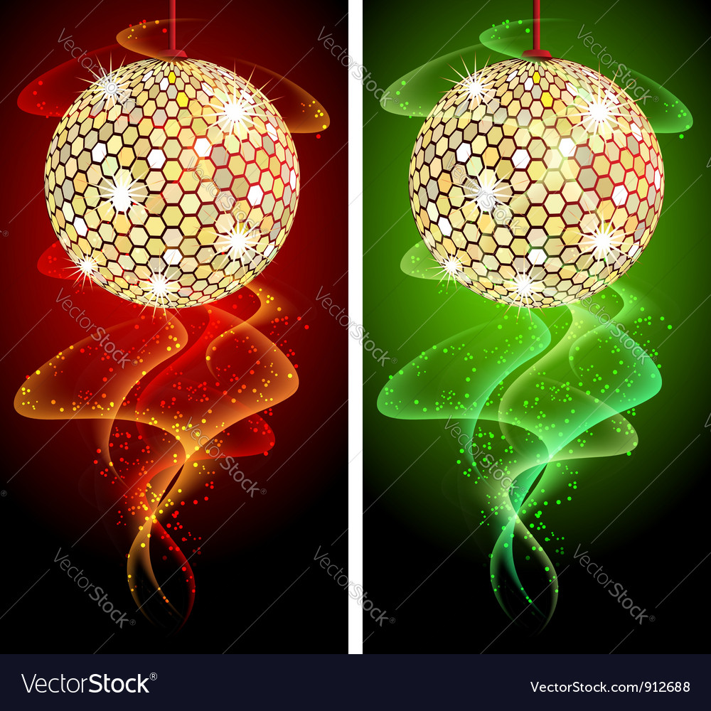 Discoball background vector | Price: 1 Credit (USD $1)