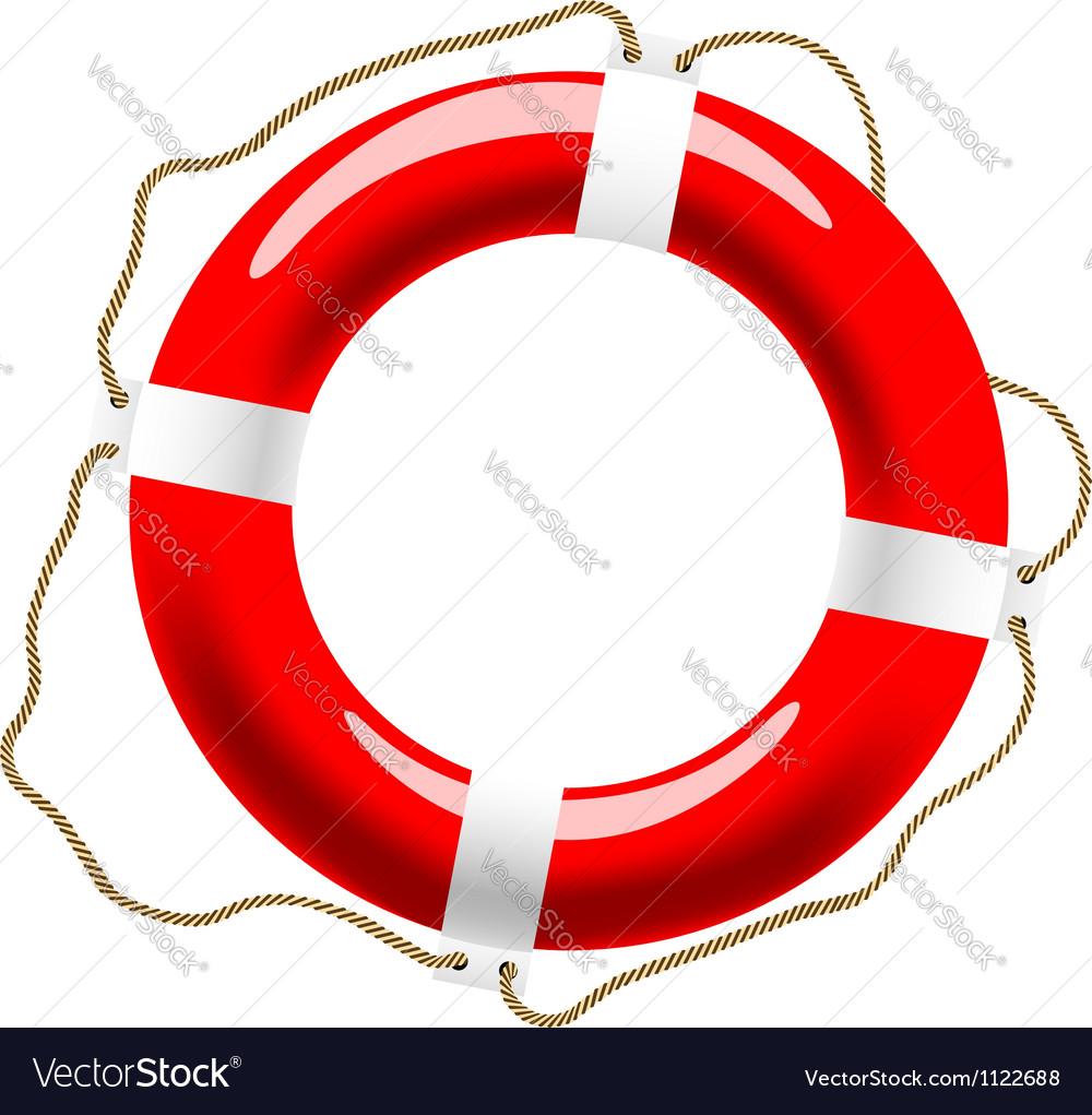 Life buoy icon vector | Price: 1 Credit (USD $1)