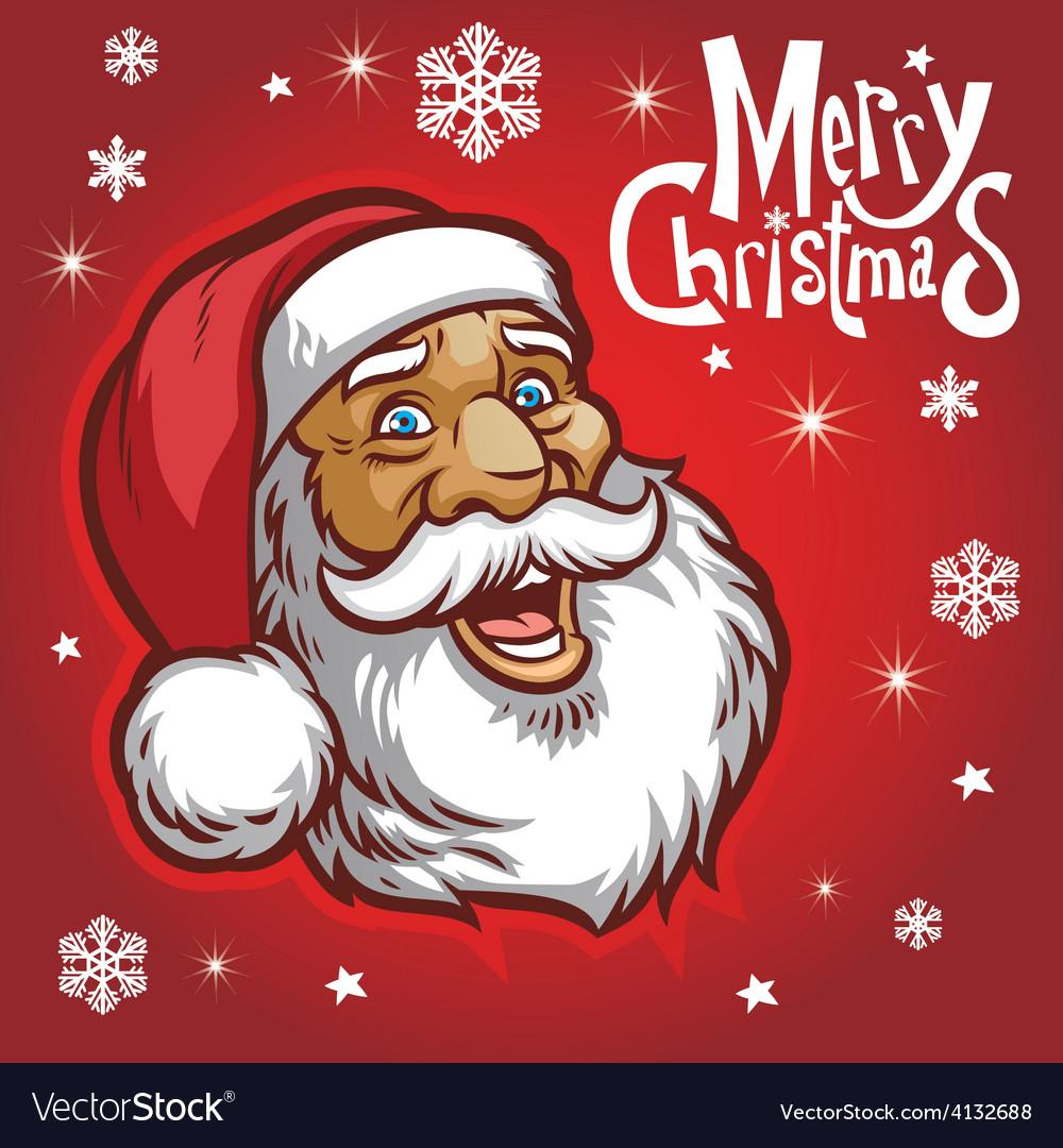 Santa claus head vector   Price: 3 Credit (USD $3)