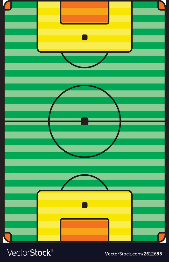 Sports field design vector | Price: 1 Credit (USD $1)