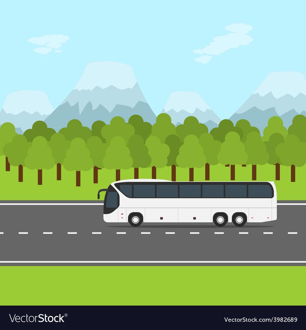Bus trip vector | Price: 1 Credit (USD $1)