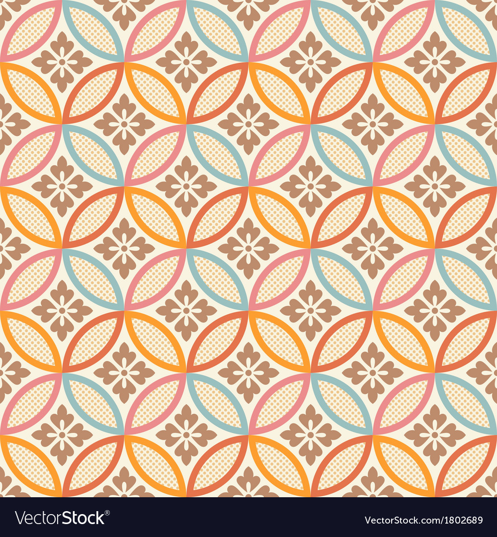 Seamless japanese style fabric pattern vector   Price: 1 Credit (USD $1)