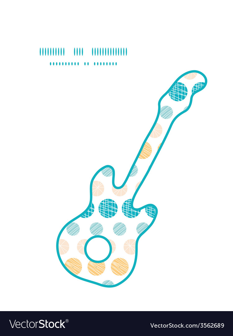 Texture circles stripes abstract guitar music vector | Price: 1 Credit (USD $1)