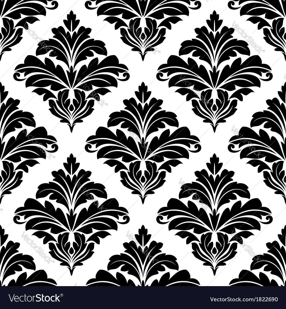 Geometric seamless arabesque pattern vector | Price: 1 Credit (USD $1)