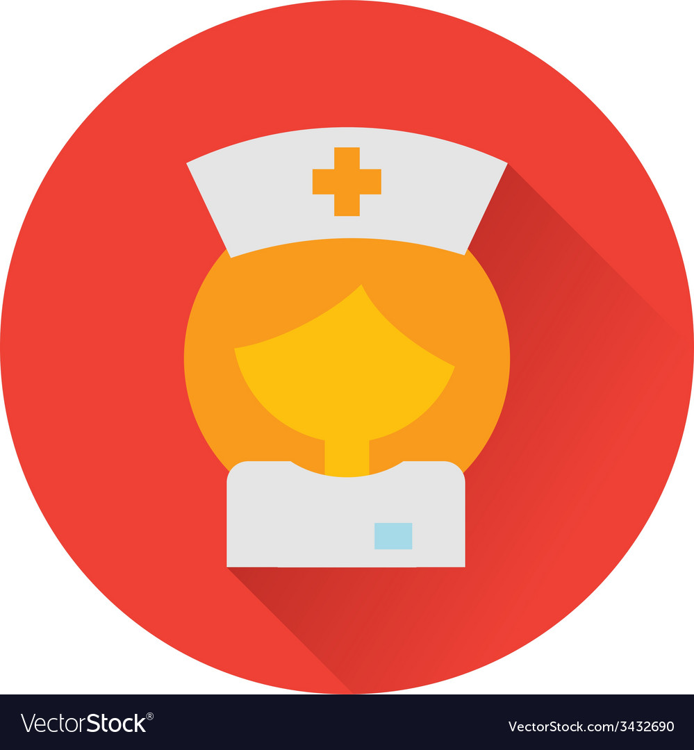Nurse doctor icon vector | Price: 1 Credit (USD $1)