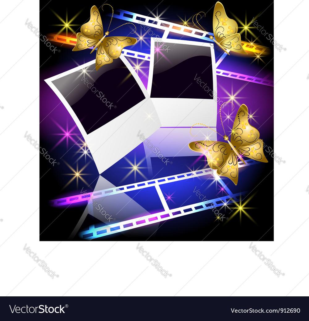 Polaroid film posters vector | Price: 3 Credit (USD $3)