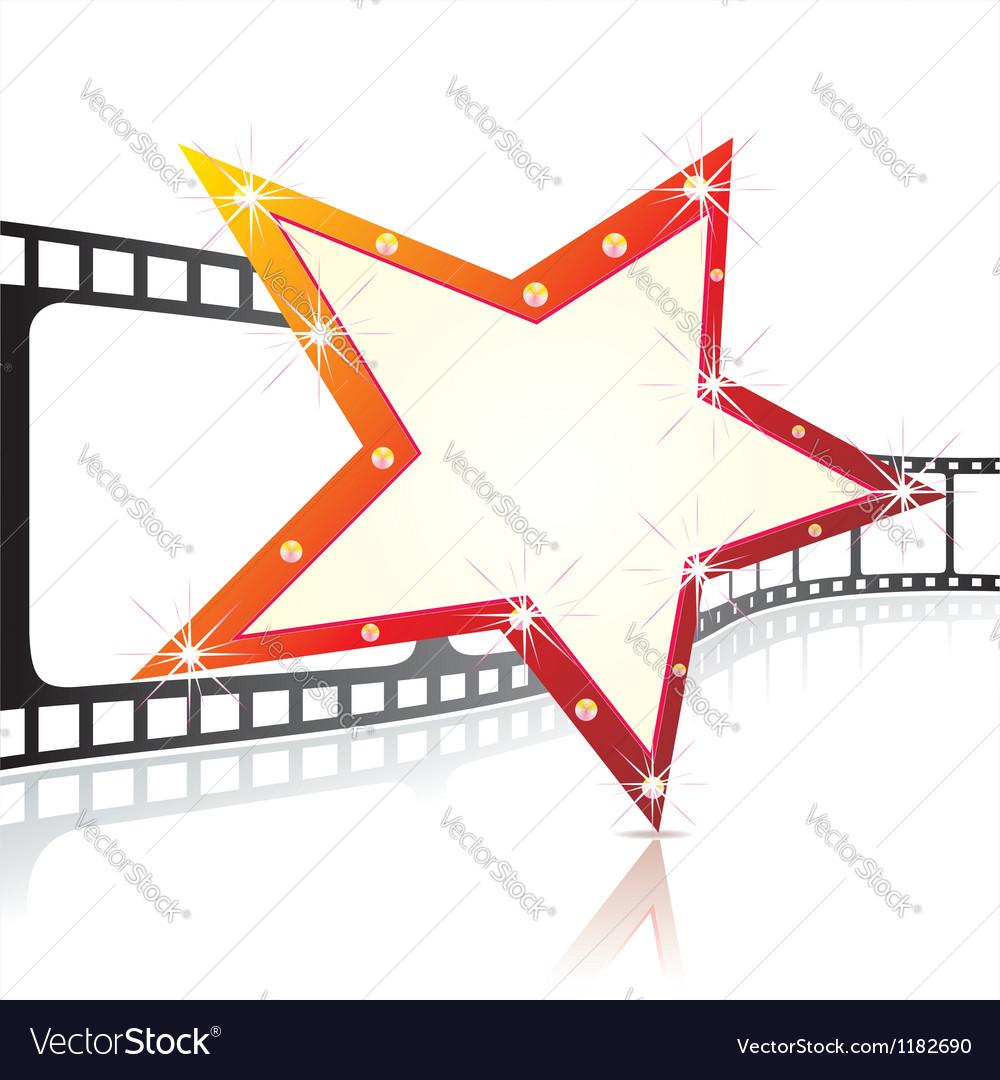 Realistic 3d film reel vector | Price: 1 Credit (USD $1)