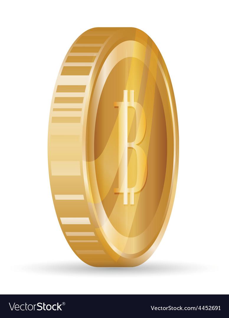 Bitcoin design vector   Price: 1 Credit (USD $1)
