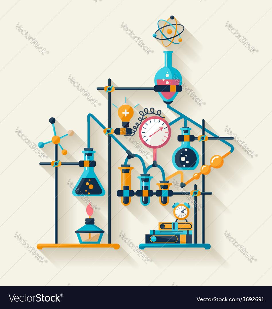 Chemistry laboratory vector   Price: 1 Credit (USD $1)