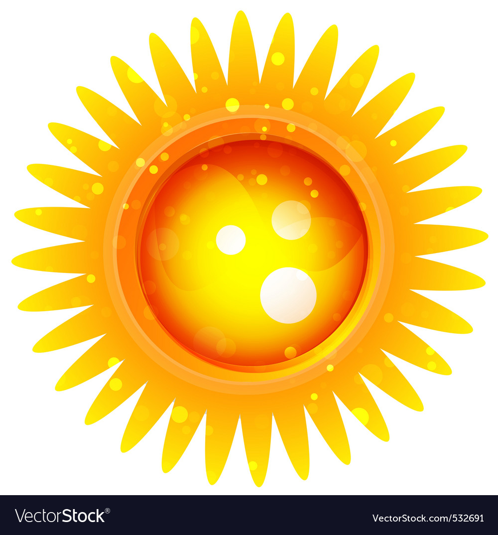 Sun logo vector | Price: 1 Credit (USD $1)