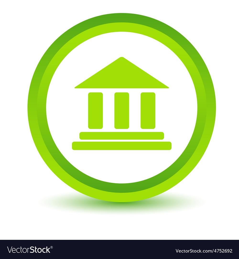 Classical building volumetric icon vector | Price: 1 Credit (USD $1)