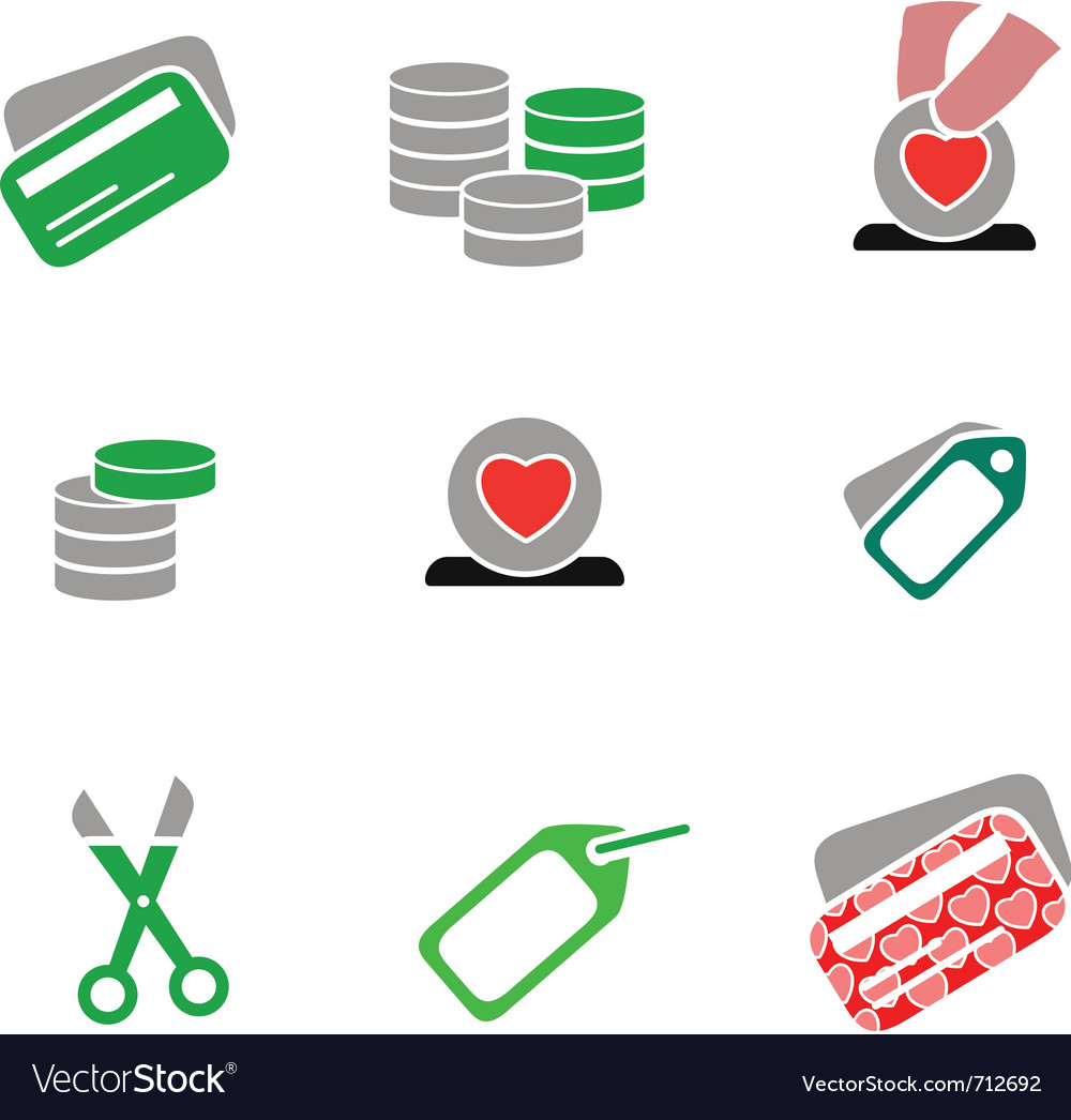 Icons - shopping 03 vector | Price: 1 Credit (USD $1)
