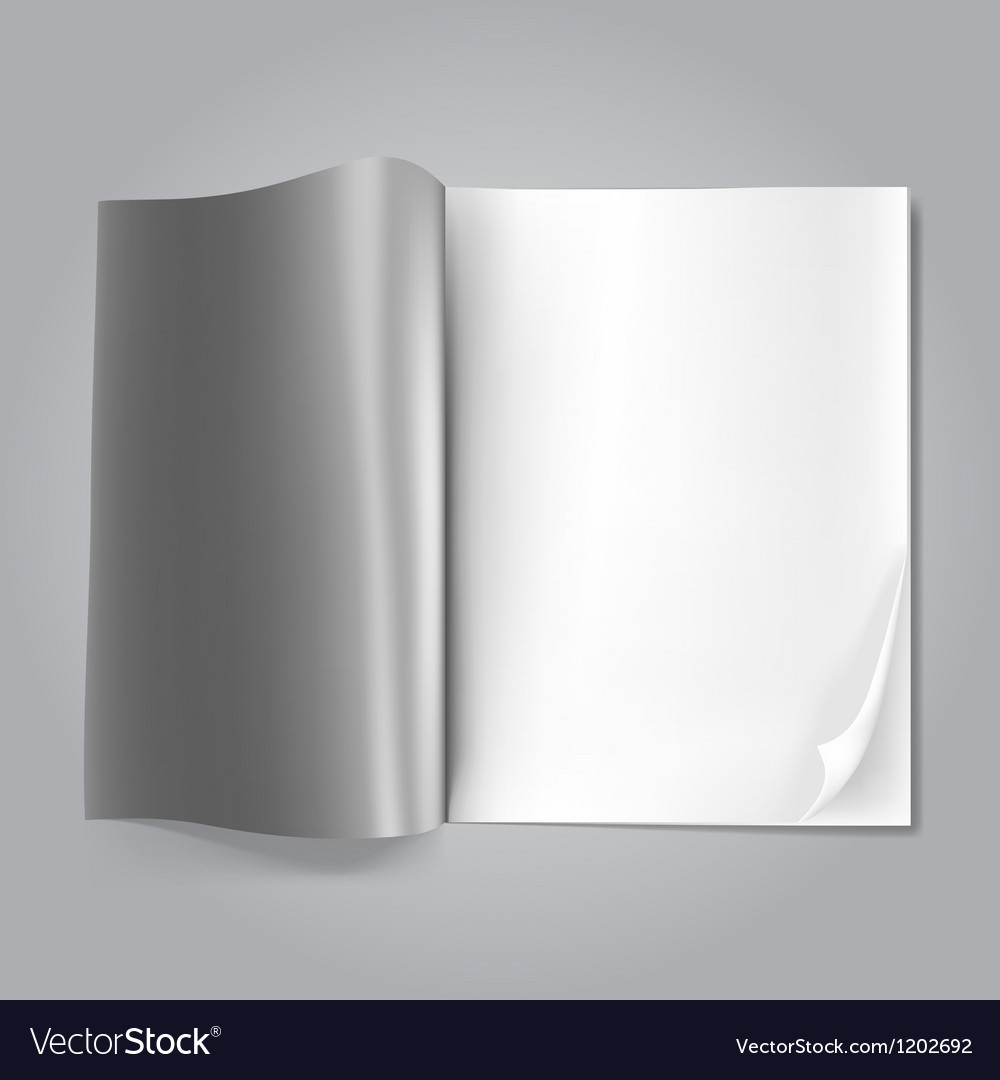 Magazine blank vector | Price: 1 Credit (USD $1)
