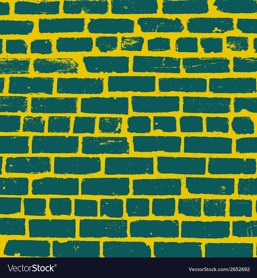 Simple background of old brickwork design vector | Price: 1 Credit (USD $1)
