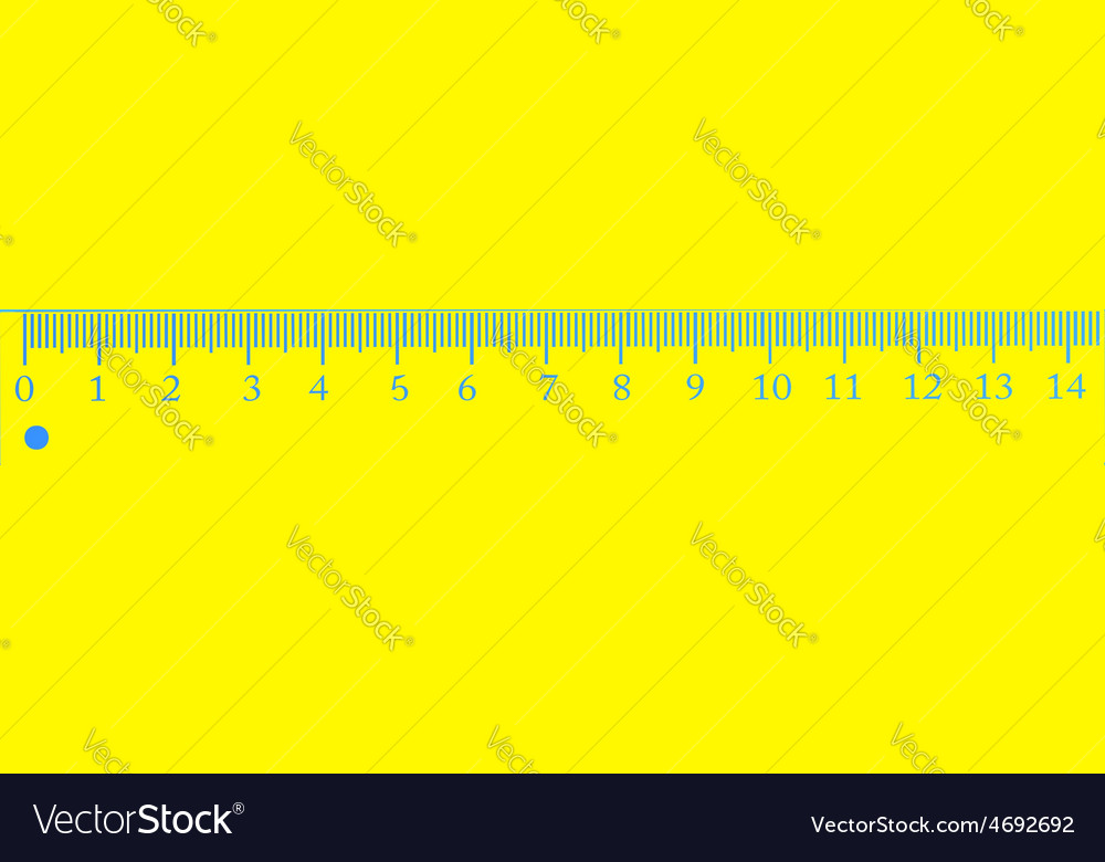 Wood ruler vector | Price: 1 Credit (USD $1)