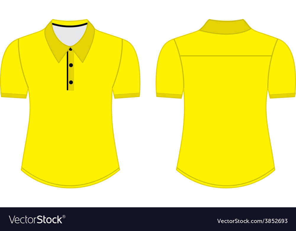 Blank shirt with shot sleeves template for men vector | Price: 1 Credit (USD $1)