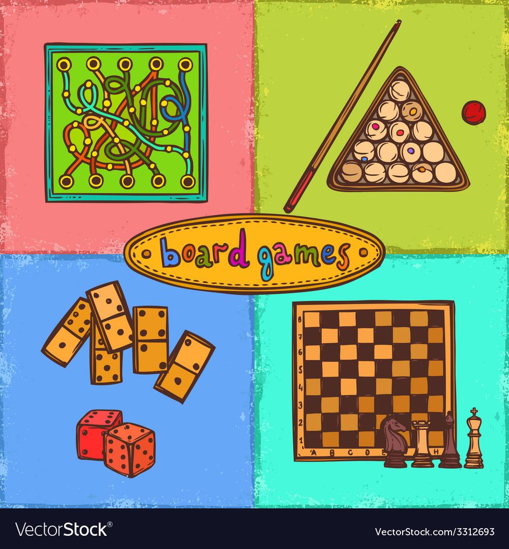 Game sketch concepts vector | Price: 1 Credit (USD $1)