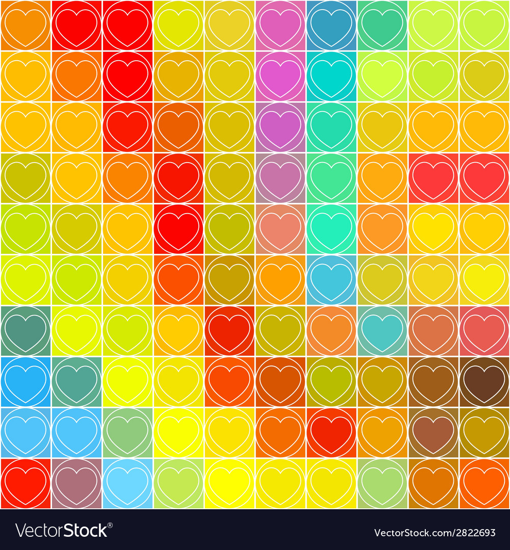 Love heart background vector | Price: 1 Credit (USD $1)