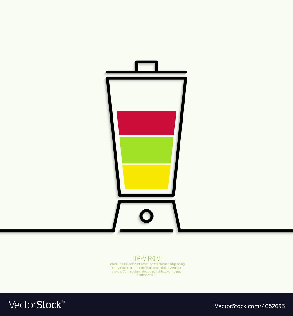 Natural juice vector | Price: 1 Credit (USD $1)