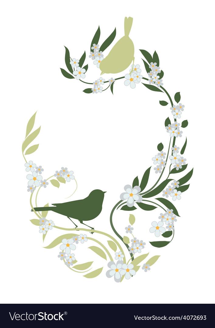 Spring birds vector   Price: 1 Credit (USD $1)