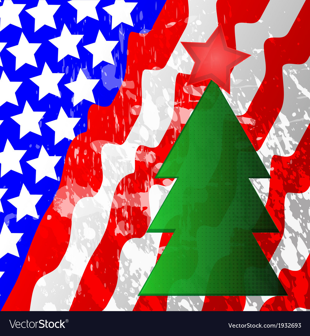Usa flag background vector | Price: 1 Credit (USD $1)
